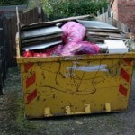 Skip full of rubbish