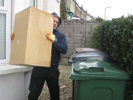Removing junk from a House in London