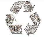 Shredded paper image
