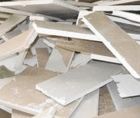Plasterboard recycling in London