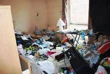 Void property clearance in a London home