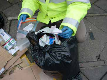 Waste managing your rubbish