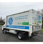 new waste clearance tipper truck